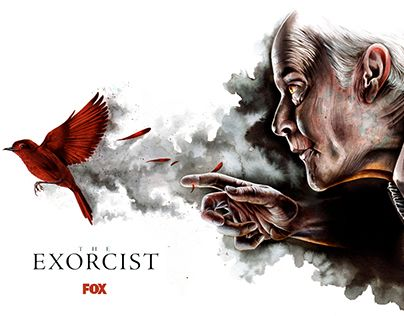 New alternative poster for The Exorcist TV show by Jeremy Pailler