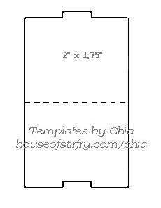 folder template card templates file folders scrapbook cards planner