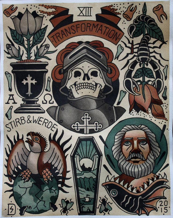 Traditional Occult Tattoos | www.pixshark.com - Images ...