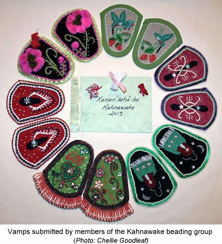 Walking With Our Sisters, KahnawakeBeadingGroup. A Commemorative Art Installation for the Missing and Murdered Indigenous Women of Canada and the United States