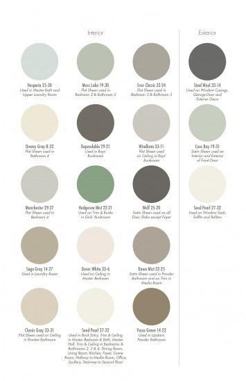 74 Best Paint Colors Images On Pinterest Color Palettes