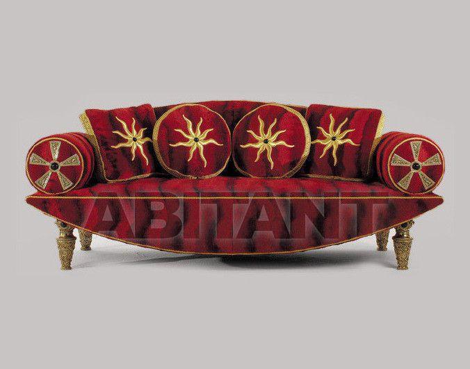 Диван бордовый Colombostile s.p.a. 1792 DV3AK, Каталог мебели ABITANT Москва