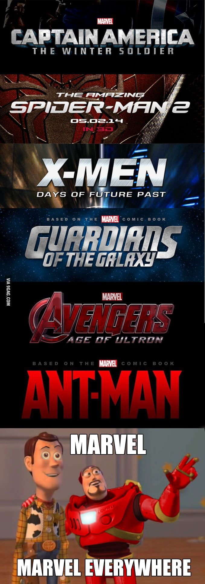 When I see the upcoming movies 2014/2015