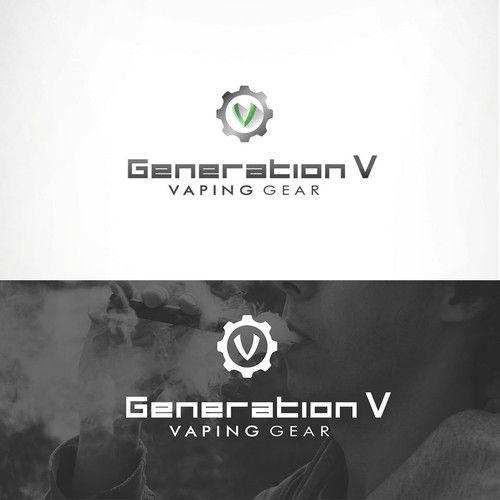 Generation V - Create a logo for a vaping company