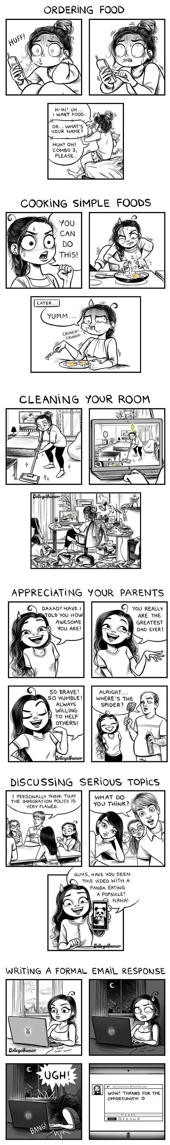 6 Challenges of Being an Adult - Cassandra Calin - http://c-cassandra.tumblr.com/
