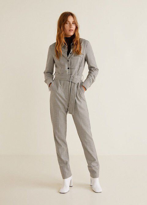 cfdace7fe734 The boilersuit trend gets an update with this Ganni Faust jumpsuit ...