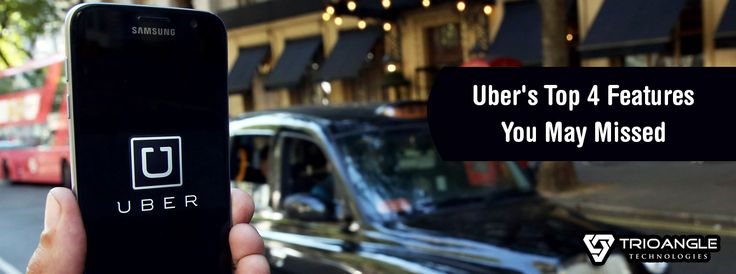 Some of the unknown exciting features of Uber. If you want to add this exciting feature in your taxi app, visit us https://www.trioangle.com/uber-clone/ #trioangle #uberclone #uberclonescript #uberforx #ubercloneapp #uberfeatures #ondemandapps #taxibookingapp