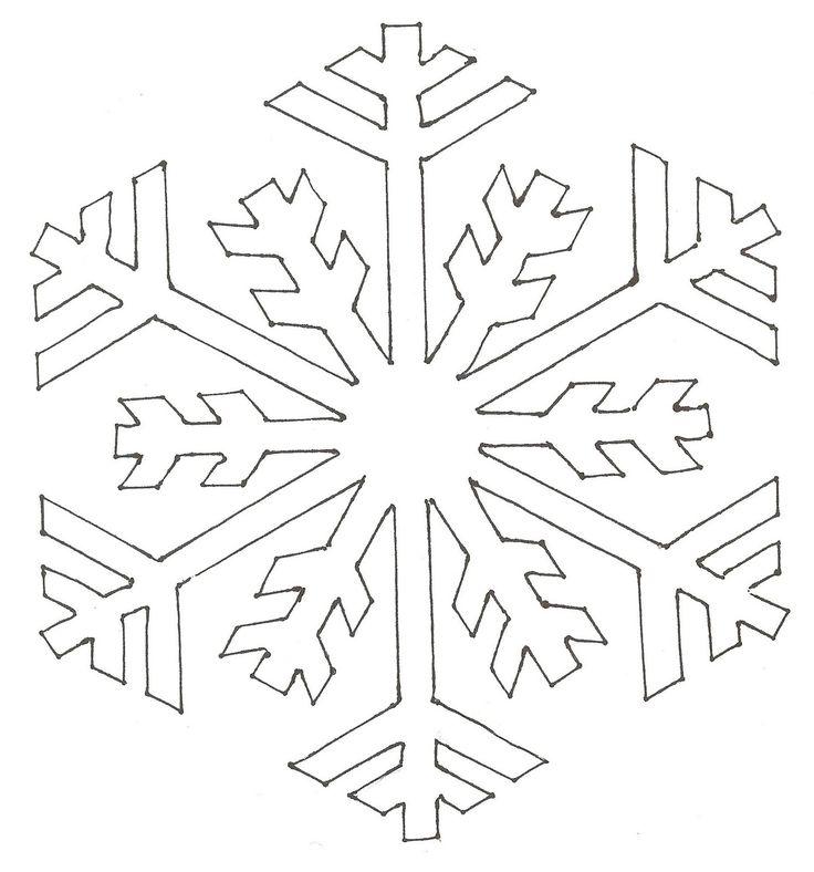 Для человека, шаблоны на нг снежинки