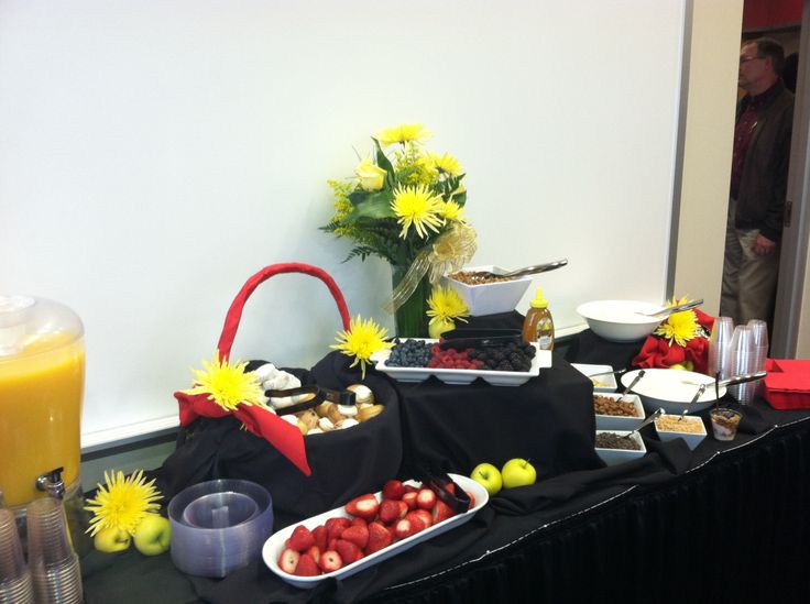 Yogurt Bar Great For Morning Meetings Wedding Or Baby Showers Graduation Parties And