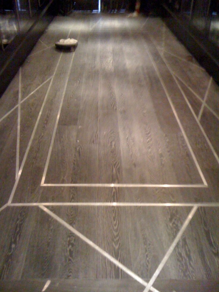 Metal Floor Inlays : Wood floor with metal inlay design detail pinterest