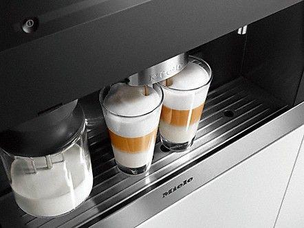 built in latte machine