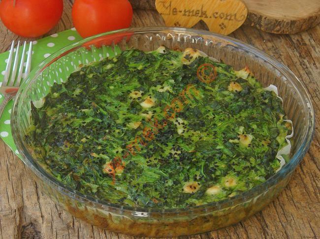 Hamursuz Ispanak Böreği Resimli Tarifi - Yemek Tarifleri