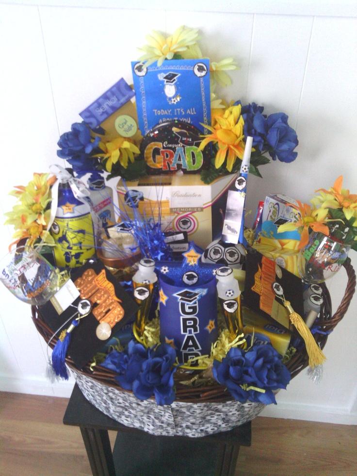 132 best graduation baskets images on gift basket