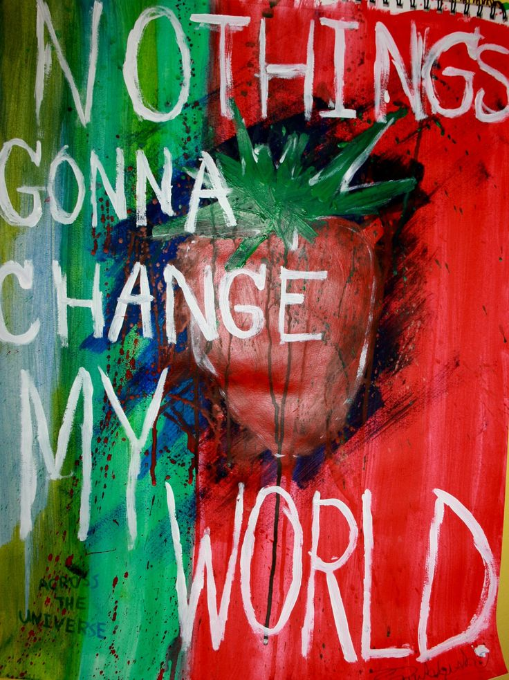 The Beatles - Across the Universe - 1969  Album = No One's Gonna Change Our World 2nd release: 1970  Album = Let It Be  Song   Lyrics
