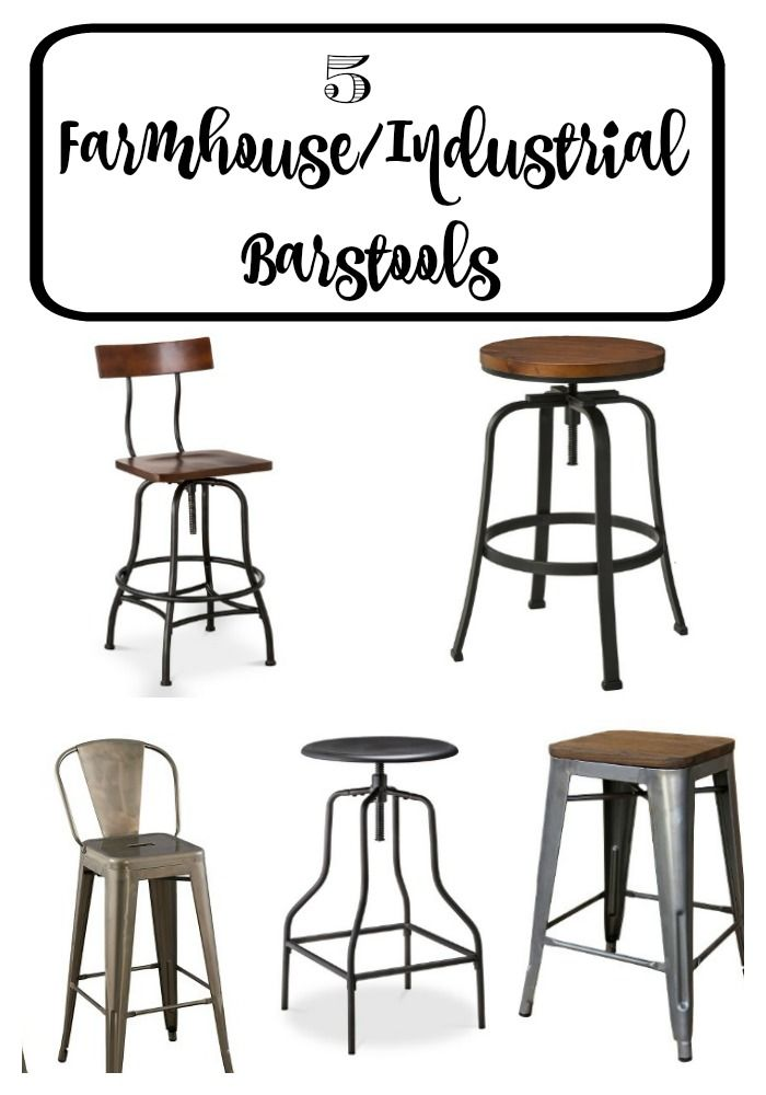 5 Target Farmhouse Industrial Stools To Be We And Posts