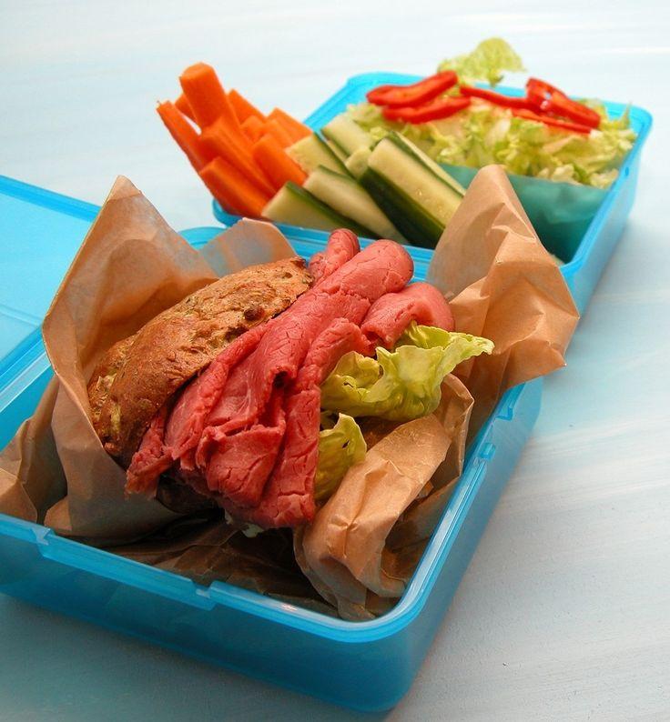 PCO venlige opskrifter - her roastbeef sandwich