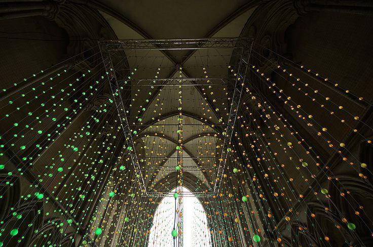 Squidsoup, Salisbury Cathedral, 2014