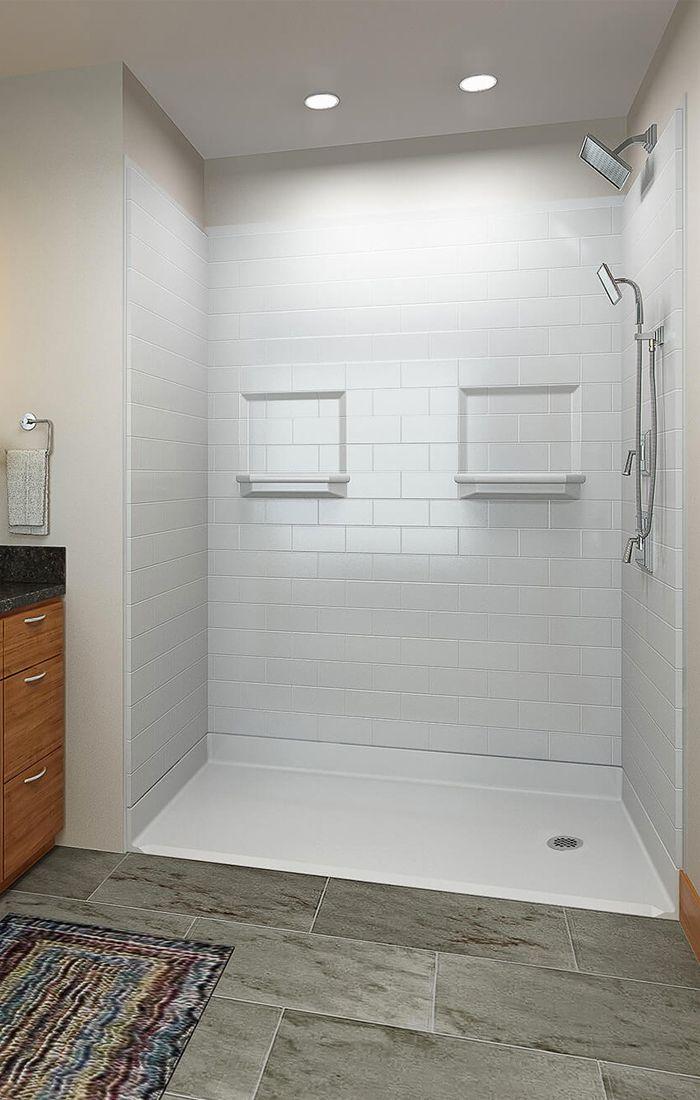 Commercial Ada Shower Stalls Handicap Accessible Showers