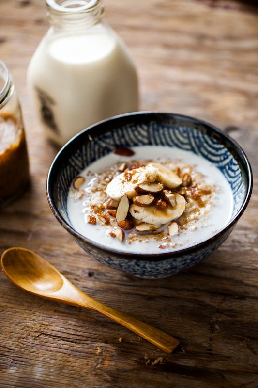 Oats with Maple Syrup, Walnuts & Banana