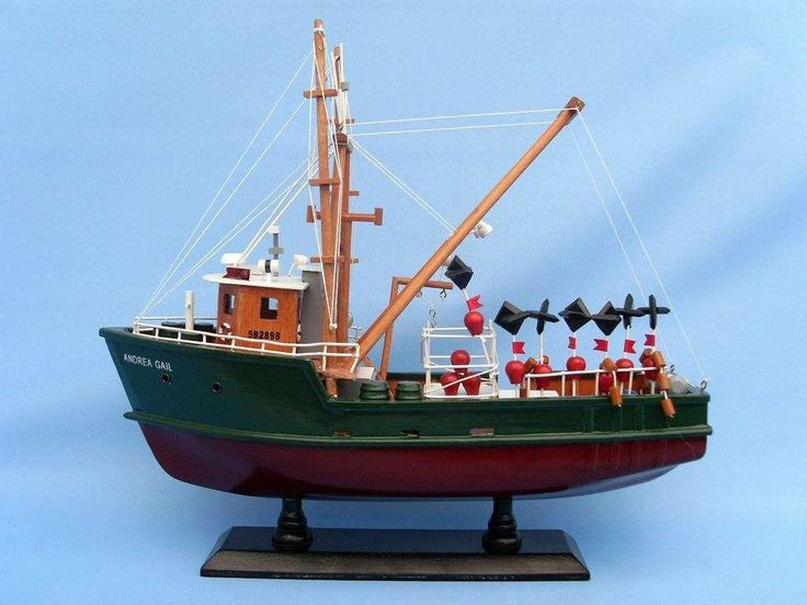 Andrea Gail - The Perfect Storm Fishing Model Boat