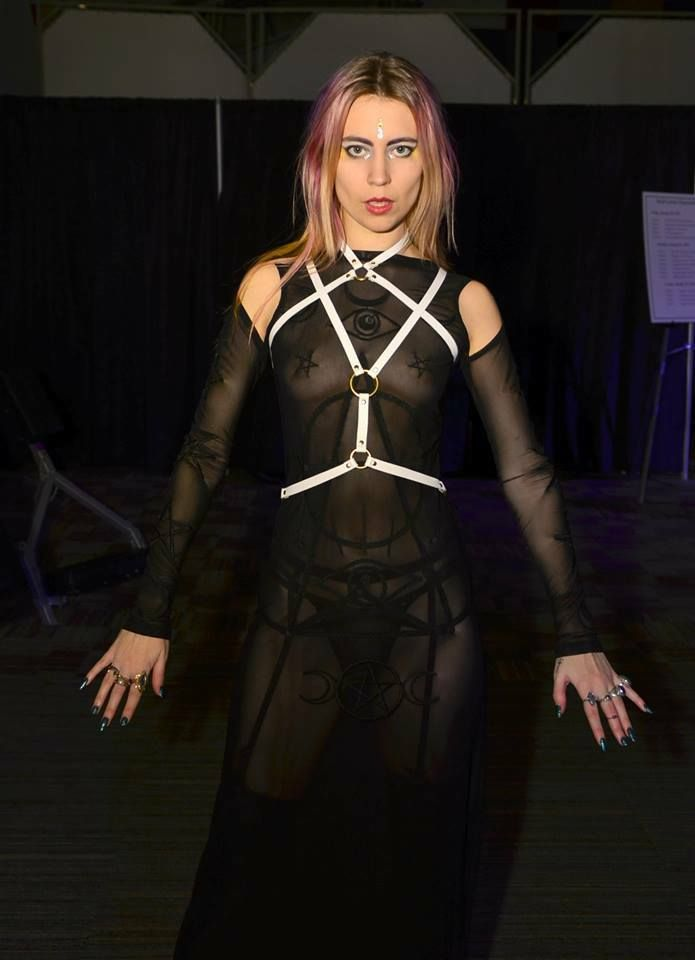 "Ryan Walker ""Babalon Leather"" elaborate jewellry/harnesses/accessories"