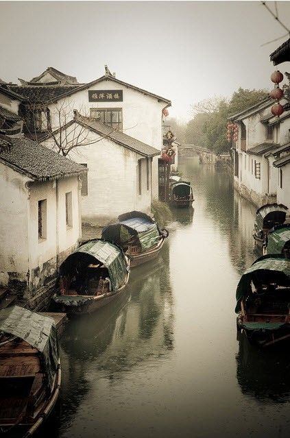 Zhujiajiao  朱家角 is an ancient town located in the Qingpu District of Shanghai. The population of Zhujiajiao is 60,000. Zhujiajiao is a water town on the outskirts of Shanghai, and was established about 1,700 years ago. Archaeological findings dating back 5,000 years have also been found. 36 stone bridges and numerous rivers line Zhujiajiao, and many ancient buildings still line the riverbanks today.