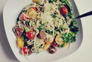 Pesto pasta à la Nina