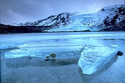 Reykjavik, Iceland (The Eyjafjallajökull glacier)