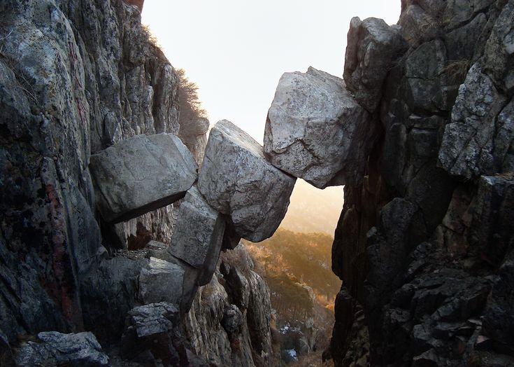 The Immortal Bridge in the Mount Tai ! What a #Roojoom !! @roojoom its 4 U ;-)