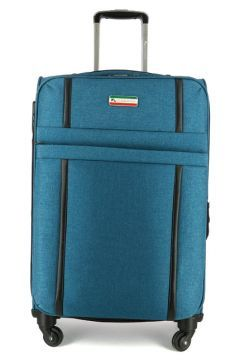 Unisex Mavi  Kumaş Valiz