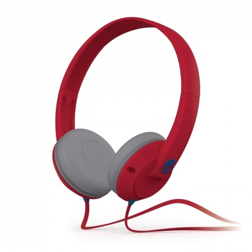 Earbuds for kids for school - headphones for kids red