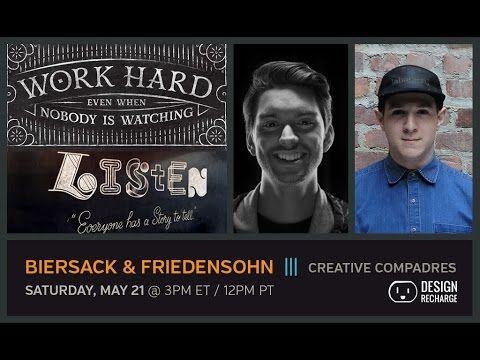 The Design Recharge Show: Scott Biersack & Eric Friedensohn // Creative Compadres
