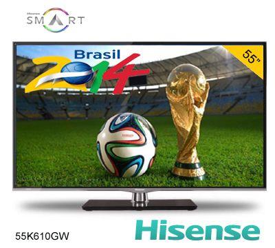 55 Pulgadas a súper precio para la final de Brasil 2014