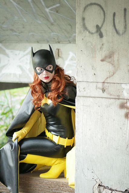 Barbara Gordon - Batgirl IX by capedladies, via Flickr