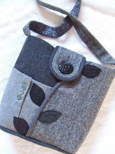 a finished B&W bag ♥