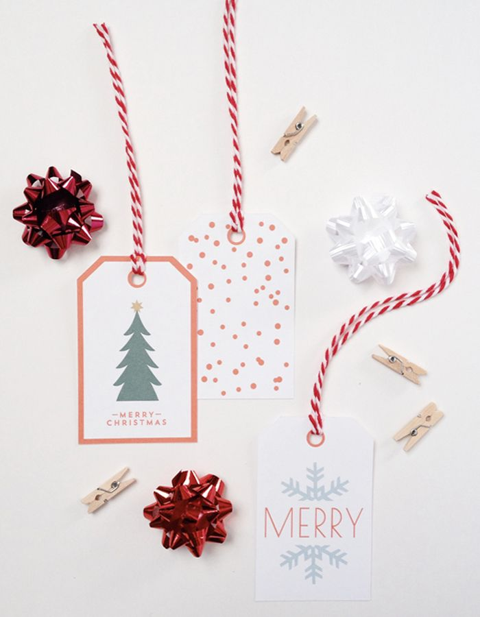 Free Printable Holiday Tags from Creative Index