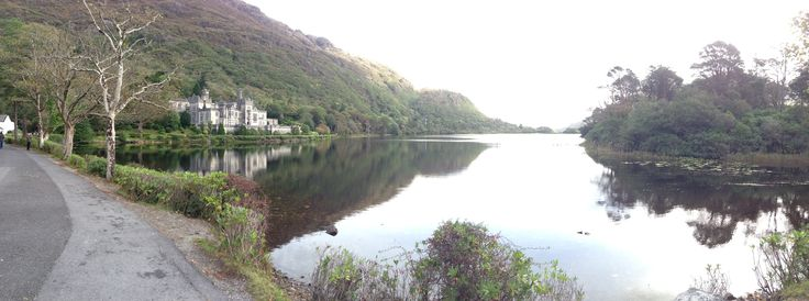 Panoramic of Kylemore Abbey