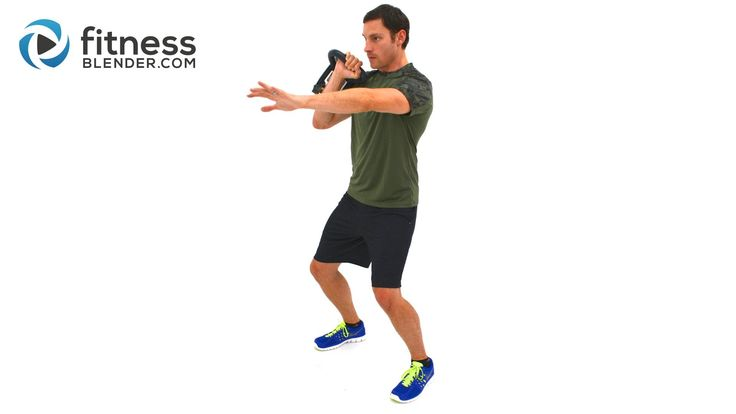 Metabolism Boosting 5 Minute Kettlebell Cardio Workout