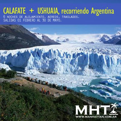 Recorriendo #Argentina, CALAFATE+USHUAIA combinados!
