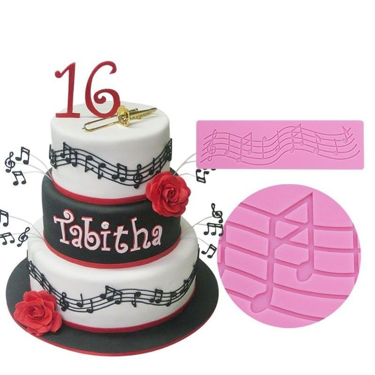 1000+ Ideas About Music Note Cake On Pinterest