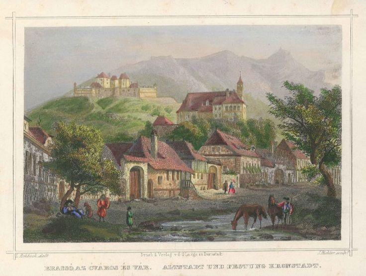 Brasov orașul vechi și fortareata