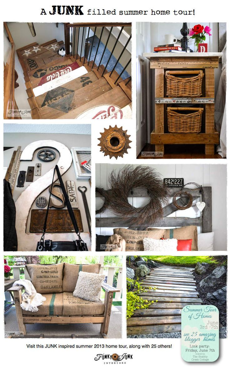 4682 best images about top vintage style diy bloggers on for Funky home decor