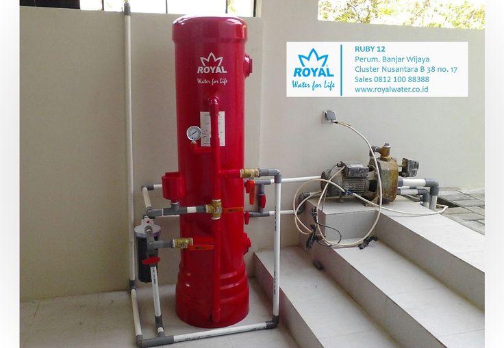 ROYAL-RUBY12 efektif memberikan solusi air bersih untuk permasalahan air kotor, kuning, berbau Zat Besi. sales 0812 100 88388 www.royalwater.co.id