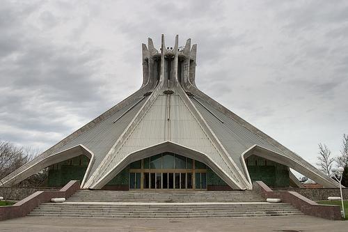 Soviet architecture in Taskent, Uzbekistan #socialist #brutalism #architecture