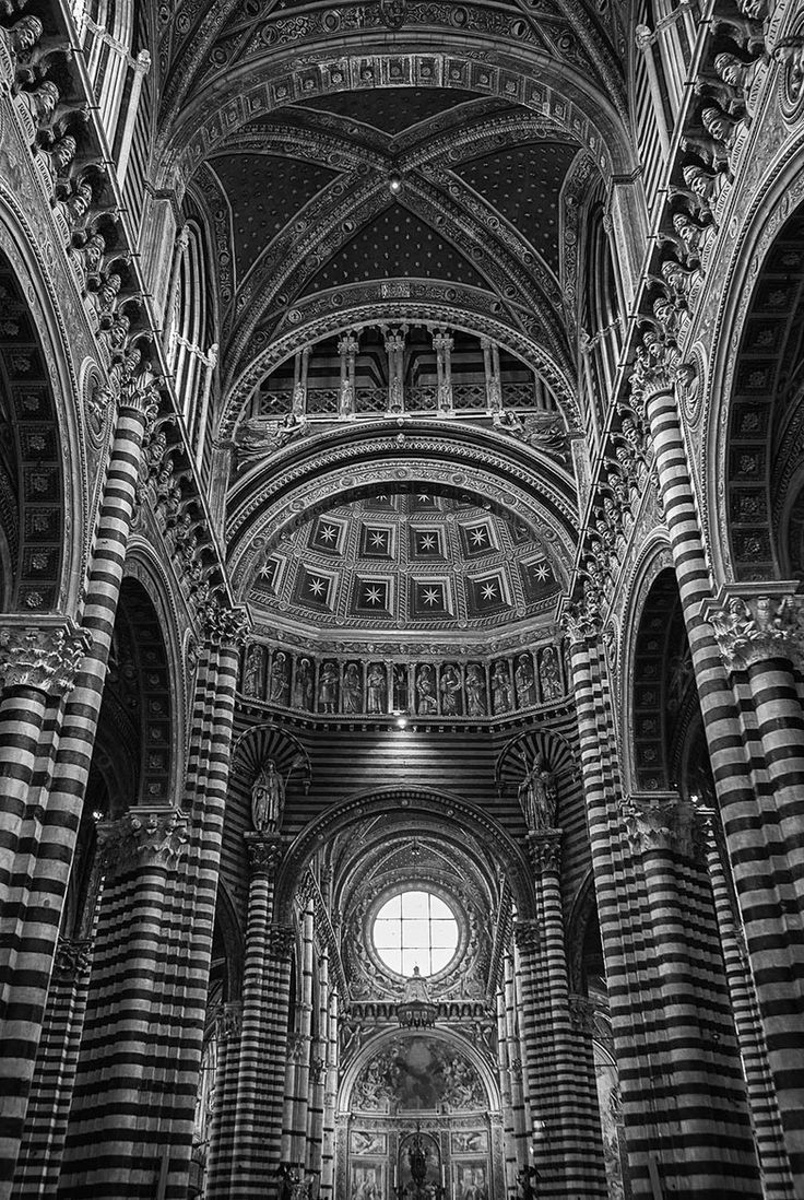Siena Cathedral by Anthony W. S. Soo