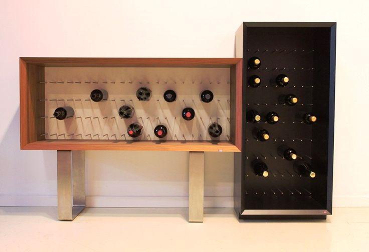 92 best images about portabottiglie esigo esigo 39 s wine racks on pinterest wine bottle - Accessori vino design ...