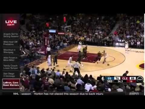LeBron James's 42 Points OVER Warriors & Stephen Curry