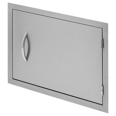 "CalFlame 27"" Horizontal Access Door for Outdoor Grill Island BBQ07841P-27"