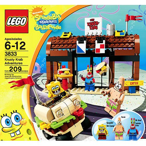 LEGO SpongeBob SquarePants - Krusty Krab Adventures