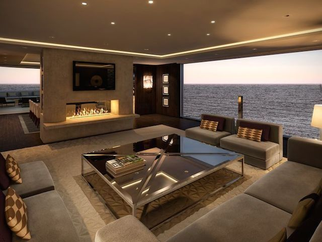 PRIVATE YACHT PROJECT BY INTERIOR DESIGNER LAWSON ROBB